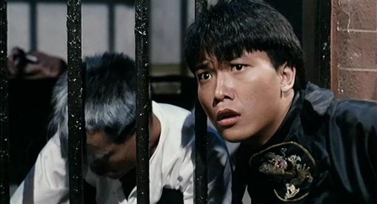 Siu-Ho Chin and Ching-Ying Lam in Mr. Vampire (1985).
