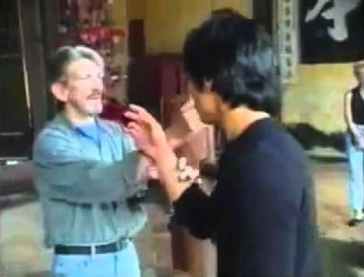Jerry Poteet training Jason Scot Lee in Jeet Kune Do