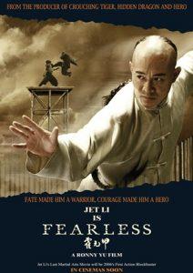 Jet Li's is Fearless Poster