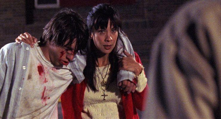 Mike Olaskey and Diane Lee Inosanto in The Sensei (2008)