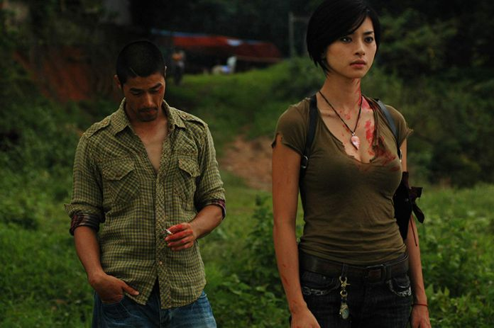 Johnny Nguyen and Veronica Ngo in Clash (2009).