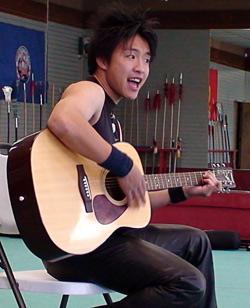 Jack Tu singing