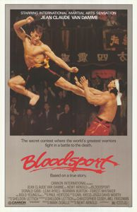 Bloodsport 1988 movie poster