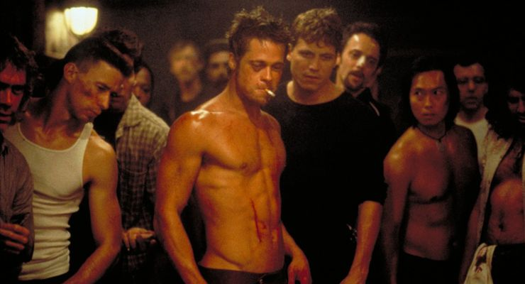 an examination of the movie fight club There is no more profound or powerful example of the way david fincher's fight club has been misinterpreted and misappropriated in the decade since its release than the fact that spike honored the film at the 2009 edition of its guys' choice awards with a trophy for guy movie hall of fame, where it joined there's something about mary in ignominy.