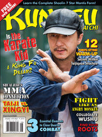 Karate Kid on Kung Fu Magazine Cover