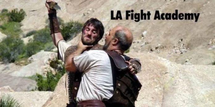 LA Fight Academy Bibile battle photo
