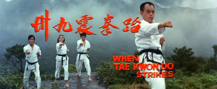 When Taekwondo Strikes 1973