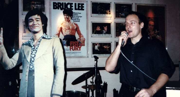 Bruce Lee and Bey Logan