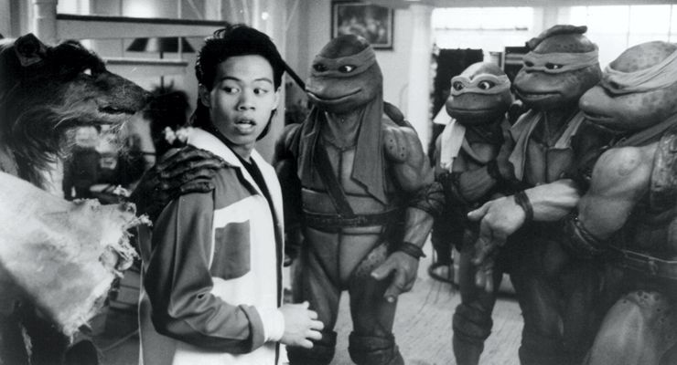 Ernie Reyes Jr. in Teenage Mutant Ninja Turtles II