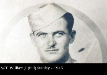 SGT William Bill Stanley in 1945