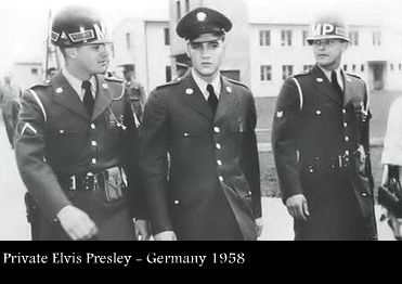 Elvis Presley in the Army in Germany 1958