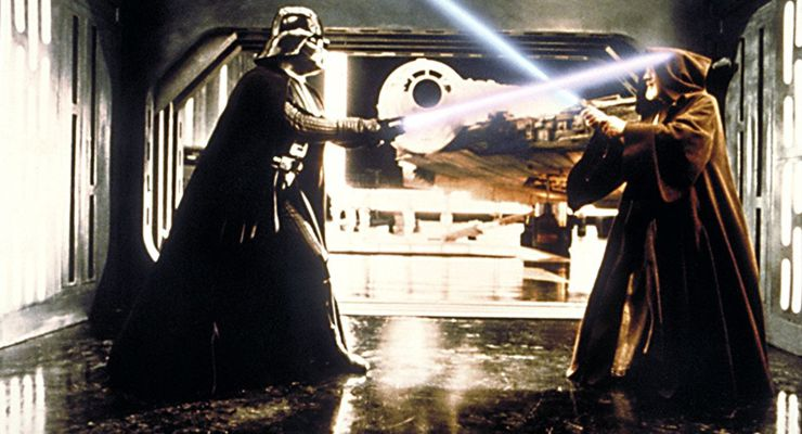 Martial Arts in Science Fiction: Stars Wars Jedi Fight
