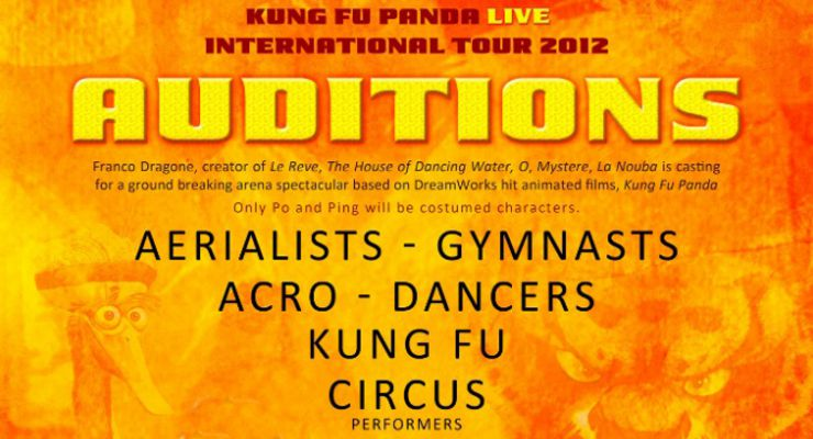 U.S. Kung Fu Panda Auditions