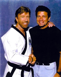Keith Vitali and Chuck Norris