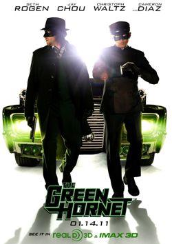 The Green Hornet 2011 Poster