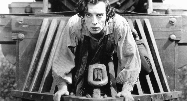 Buster Keaton Practices Systema in The General