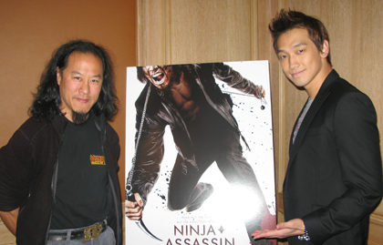 Gene Ching and Rain from Ninja Assassin