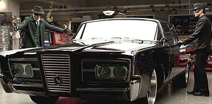 Kato Drives the Black Beauty in Green Hornet
