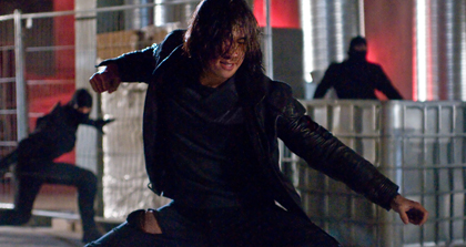 Rain in Ninja Assassin