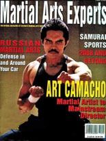 Art Camacho on Martial Arts Expert Magazine