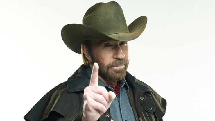Chuck Norris tsk tsk