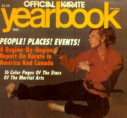 Duke Tirschel Cover Official Karate Magazine