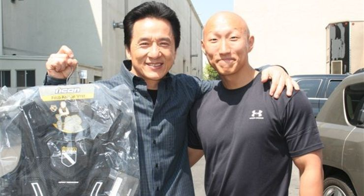 Jackie Chan and Arnold Rush Hour 3