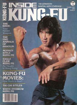 Conan Lee Inside Kungfu Cover