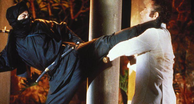 Shô Kosugi in Enter the Ninja (1981)