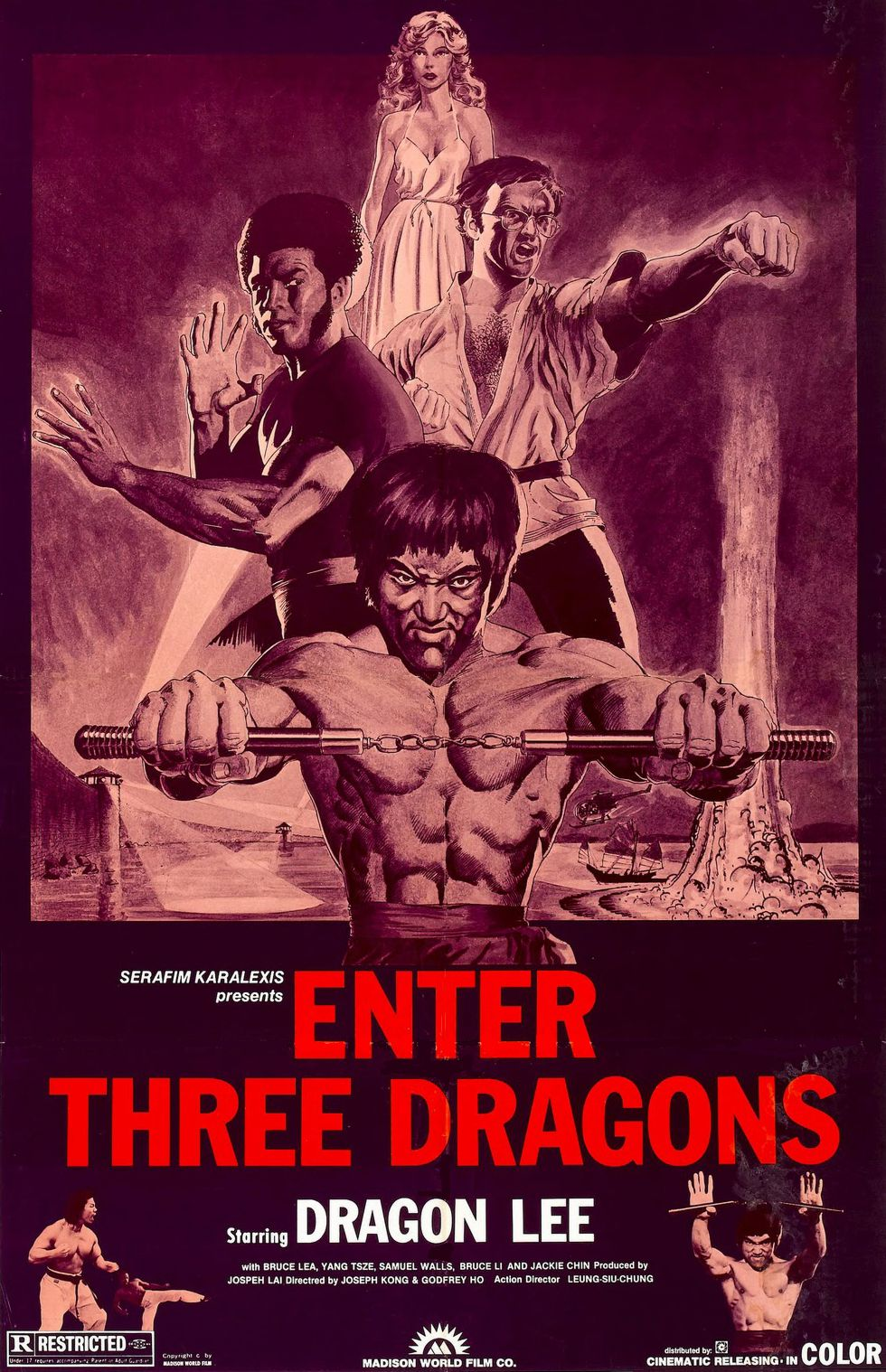 Enter Three Dragons Poster