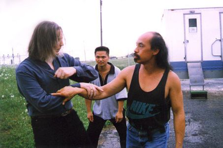 Sifu Albert Leong and Michael Dawson