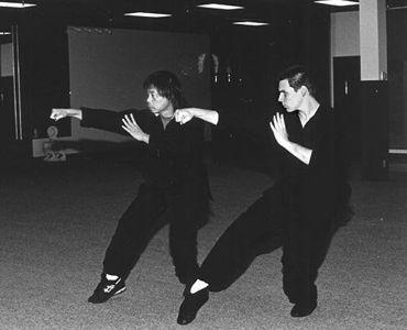 Sigung Liang Kam Yuen and Michael Dawson
