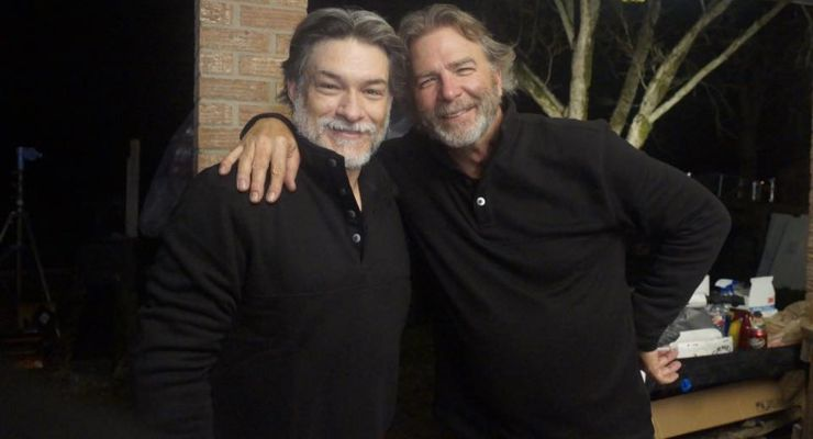 Ted Alderman and Bill Engvall