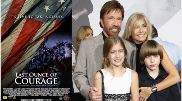 Chuck Norris Supports Last Ounce of Courage Movie