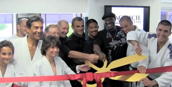 Michael Duncan Clarke at Gracie Academy Beverly Hills