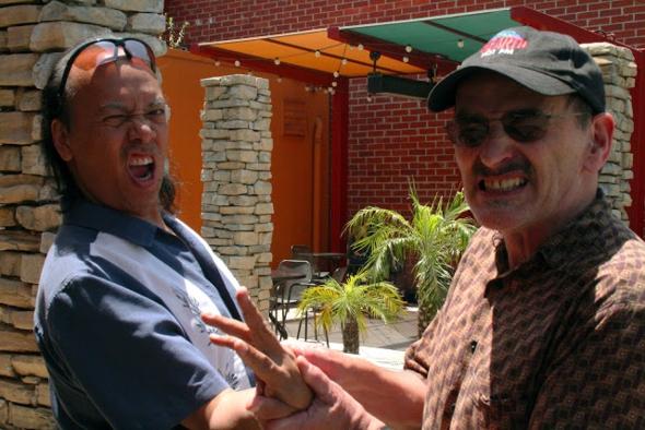 John Kreng and Hank Grover