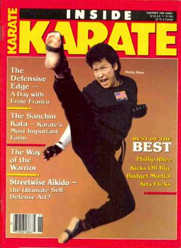 Phillip Rhee Inside Kung Fu Magazine Cover