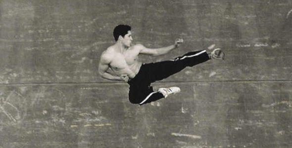 Scott Adkins Flying Side Kick