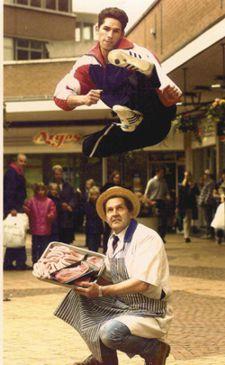 Scott Adkins Flying Kick