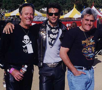 Peter Fonda Lorenzo Lamas and Jay Leno
