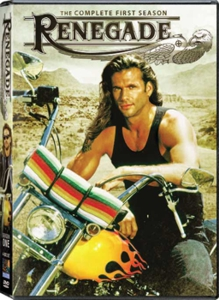Lorenzo Lamas in Renegade on DVD