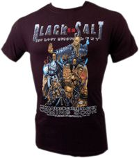 Black Salt Character T-Shirt
