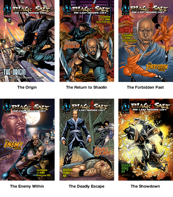 Black Salt The Movie Comics Cover Art