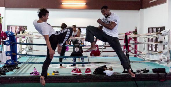 Tony Jaa and Michael Jai White Skin Trade