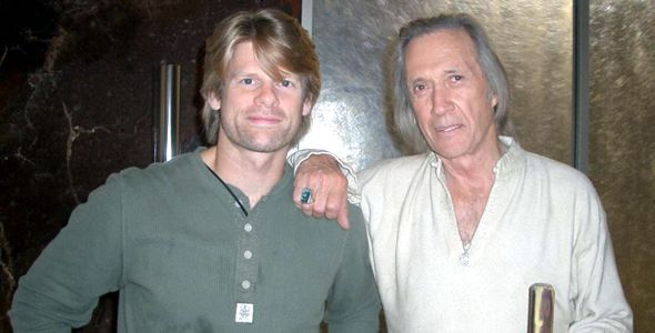 David Morizot and David Carradine