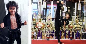 Nassim Faras Lahrizi Cast in The Martial Arts Kid