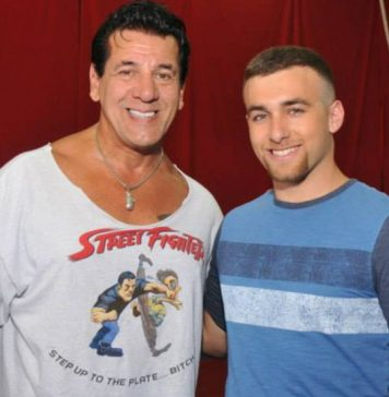 Chuck Zito and Matthew Ziff of The Martial Arts Kid