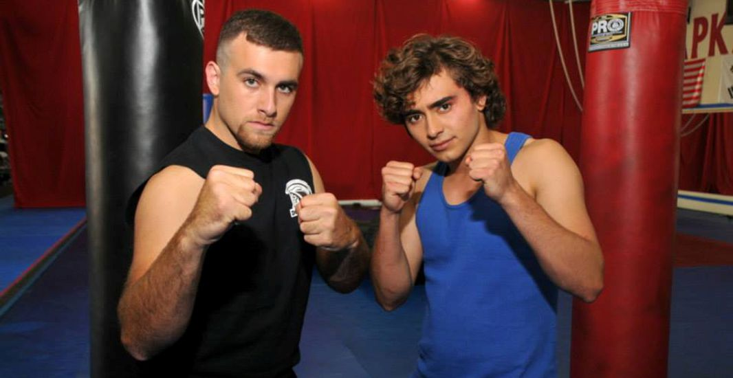 Jason Panettiere and Matt Ziff in The Martial Arts Kid