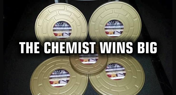 The Chemist Wins BIG at Action On Film Awards