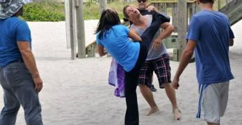 Cynthia Rothrock vs Eric Kovaleski in The Martial Arts Kid